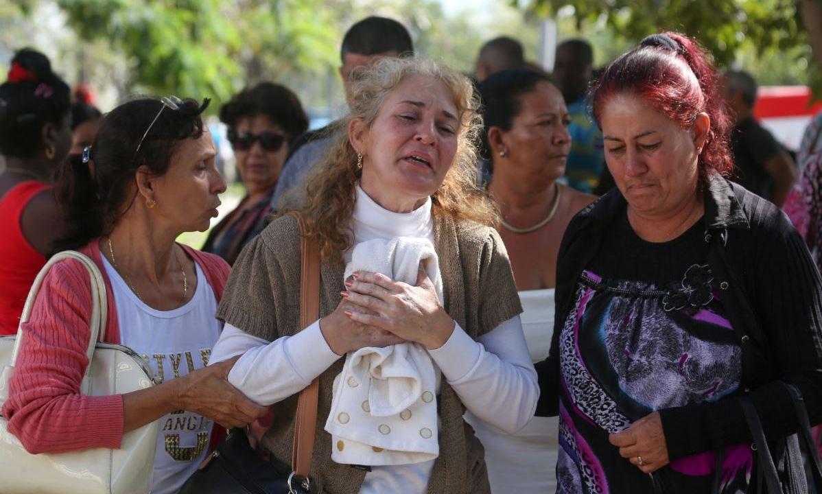 Cuba confirma 110 muertos en accidente aéreo en La Habana