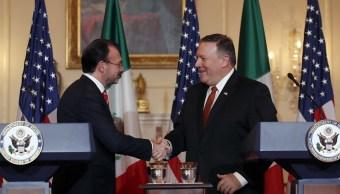 En Washington, conferencia sobre seguridad y prosperidad en Centroamerica, anuncia Videgaray