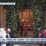 Violonchelista Toca Ceremonia Emotiva Príncipe Enrique Meghan Markle