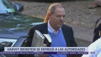 Weinstein se entrega a la Policía