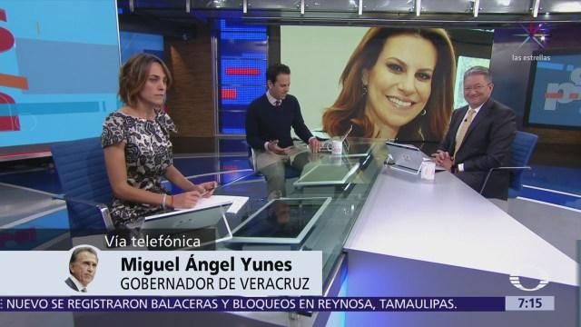 Yunes dice que revelará a PGR el paradero de Karime Macías