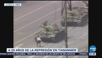 29 años de la represesión en Tiananmen