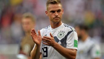 Selección de Alemania felicita a México por su triunfo
