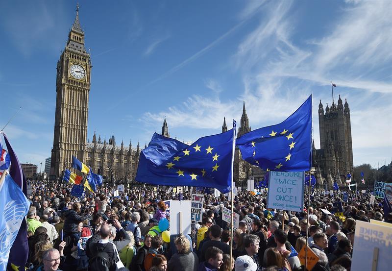 'Sí' al 'Brexit' cumple dos años en Reino Unido