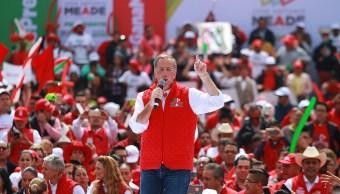 Meade realiza cierre regional de campaña en Toluca, Edomex