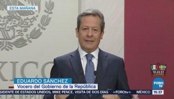 Eduardo Sánchez Responde Yeidckol Polevnsky