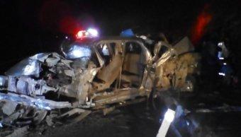 Choque deja ocho personas lesionadas en Michoacán