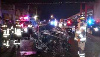 Accidente automovilístico en Tlalpan y Xola deja dos lesionados