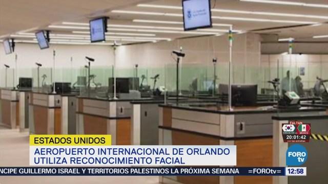Aeropuerto Orlando Utiliza Reconocimiento Facial Pasajeros