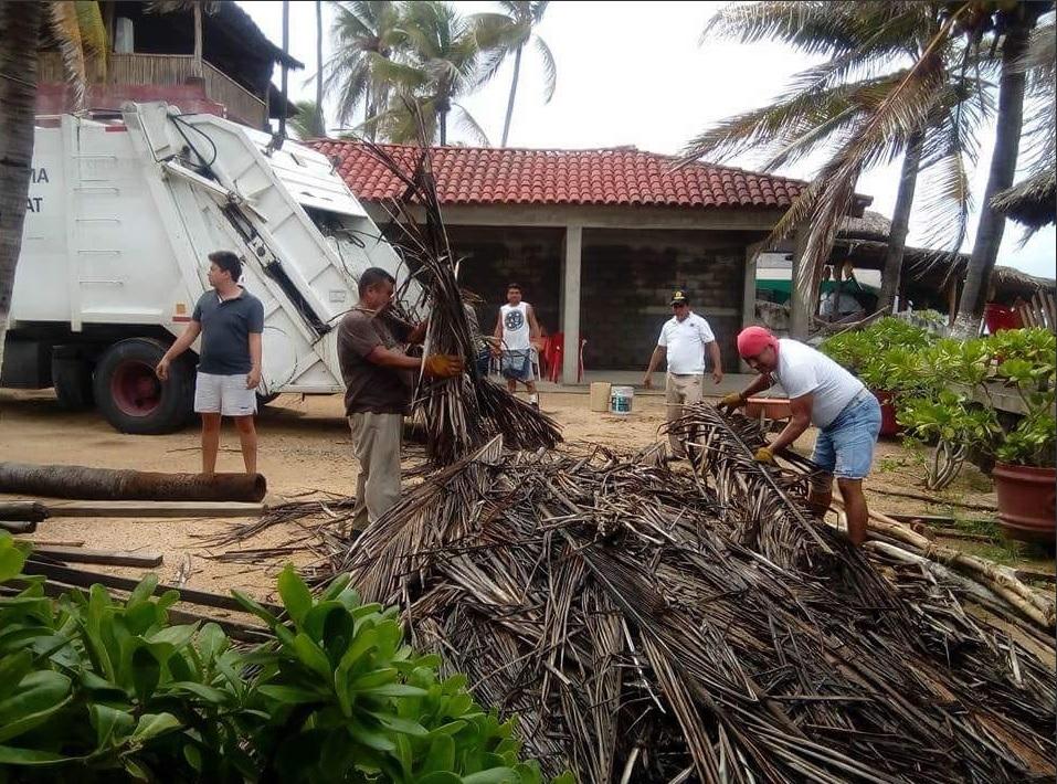 'Bud' provoca inundación 121 viviendas Acapulco, Guerrero