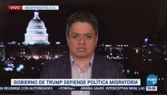 Gobierno Trump Defiende Política Migratoria