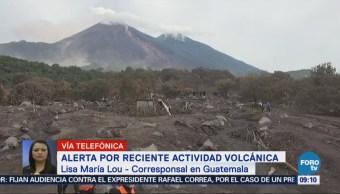 Alerta Reciente Actividad Volcán Fuego Guatemala