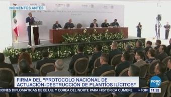 Alfonso Navarrete reconoce coordinación para combatir delincuencia