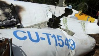 Analizan en EU cajas negras del avión accidentado en Cuba