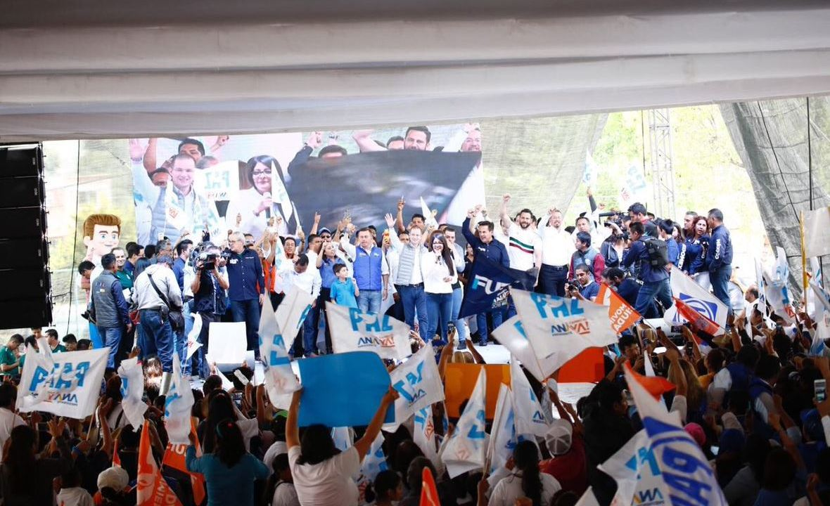 Ricardo Anaya cierra campaña en el Estado de México