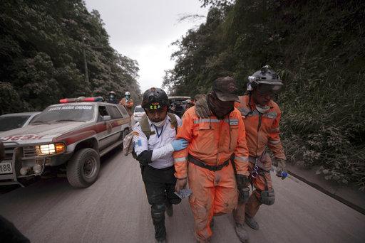 Guatemala: dolor e incertidumbre tras erupción del Volcán de Fuego (Fotos)