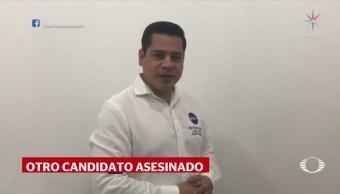 Asesinan Otro Candidato Michoacán Crimen Elecciones