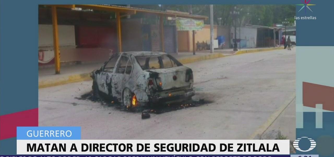 Asesinan al director de Seguridad Pública de Zitlala, Guerrero