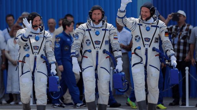 La tripulación de la misión 'Horizons' llega a la EEI