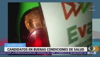 Atacan a balazos la camioneta de candidata en Querétaro
