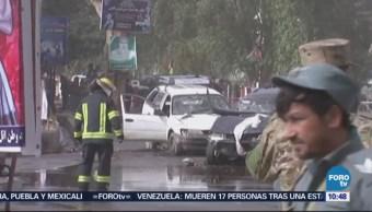 Ataque suicida en Afganistán deja varios muertos