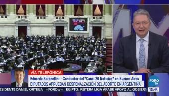 Avanza despenalización del aborto en Argentina