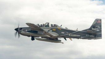 Avión militar se estrella cerca base Nuevo México