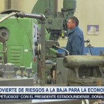 Banxico advierte riesgos económicos a la