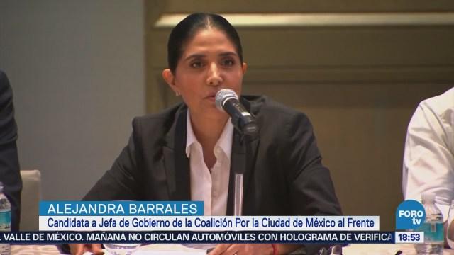 Barrales Presenta Propuesta Seguridad Cdmx Elecciones