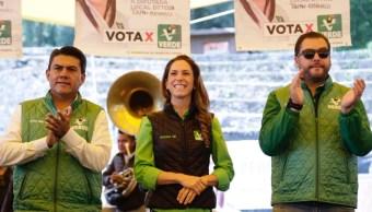 Mariana Boy cierra campaña en tres delegaciones de CDMX