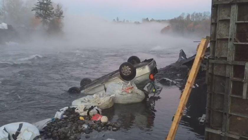 Derrumbe de puente en Chile deja un muerto y seis heridos