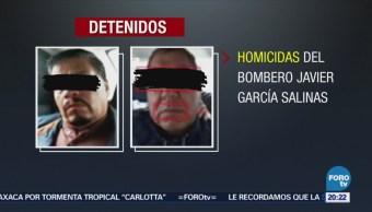 Caen Homicidas Bombero Javier García Salinas