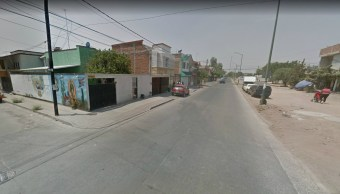 Balean varias personas calle San Gabriel, Santa Rosa de Lima, León