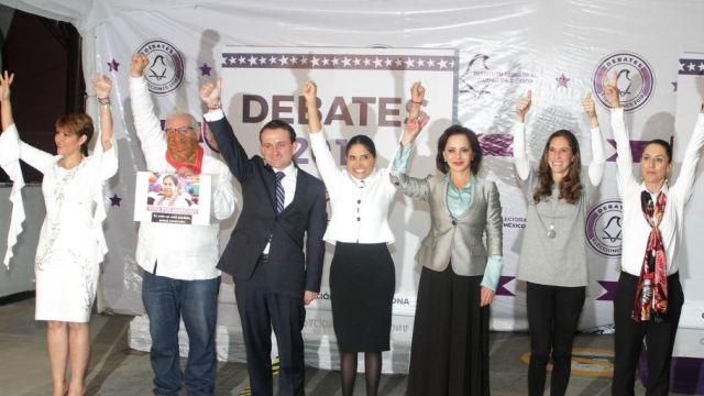 Candidatos a la CDMX exponen propuestas para sus primeros