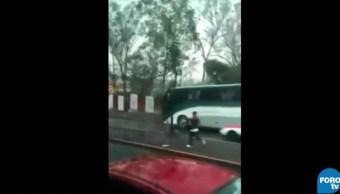 Dan a conocer video de un asalto en la Ciudad de México