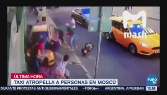 Video Momento Taxi Arrolla Mexicanos Rusia