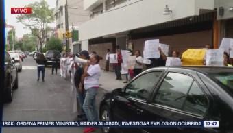 Caso News Divine lleva manifestantes a la