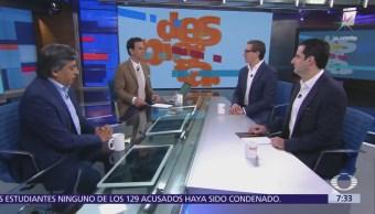 Chertorivski, Madrazo y Esquivel, mesa de propuestas económicas en Despierta