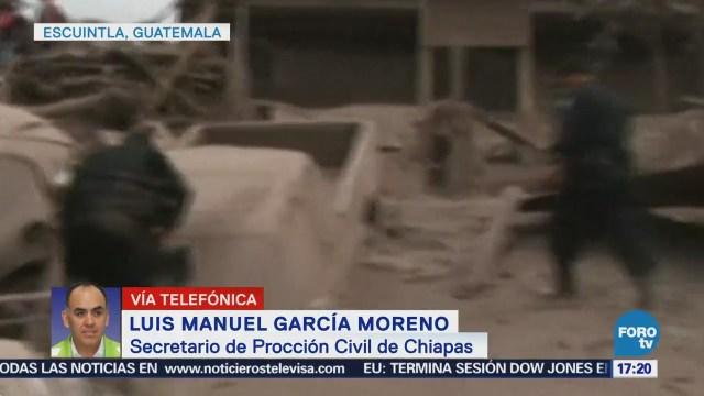 Chiapas, Sin Afectaciones Erupción Volcán Fuego Pc