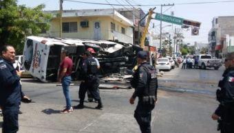 choque dos camiones dejan 16 lesionados culiacan