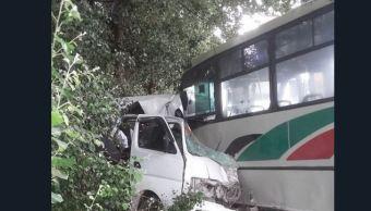 mueren seis personas accidente automovilístico acajete puebla