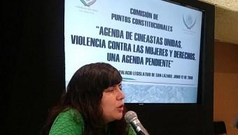Mujeres cineastas denuncian violencia de género en San Lázaro