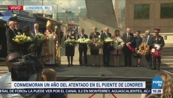 Conmemoran Un Año Atentado Puente De Londres