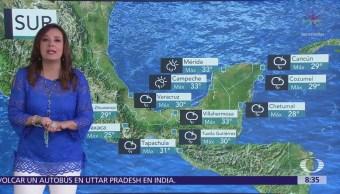 Clima Al Aire: 'Bud' originará entrada de humedad en México
