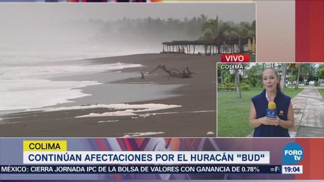 Colima Mantienen Alerta Ante Afectaciones Huracán Bud