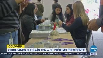 Colombia define quién será su próximo presidente