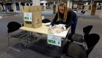 Inicia segunda vuelta de votaciones presidenciales Colombia