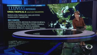 Continuarán Afectaciones Lluvias México Clima Inundaciones