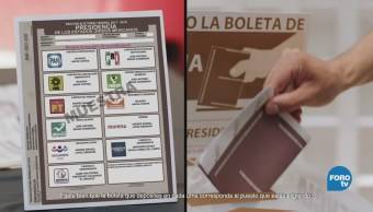 Cuántas Boletas Recibirá Elector Votante Ciudadanos