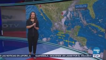 Cuatro fenómenos meteorológicos afectan al país